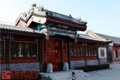 古典中式门头设计中式风格大户型