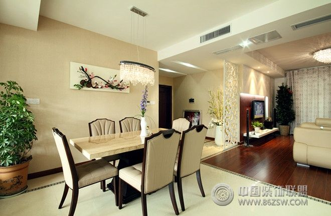130平米现代时尚三居 客厅装修图片 -130平米现代时尚三居 客厅装修