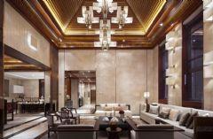中国院子480平米新中式风格中式风格别墅