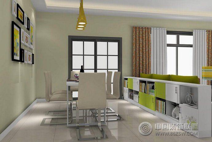 最新时尚清新餐厅设计 客厅装修效果图 -最新时尚清新餐厅设计 客厅装