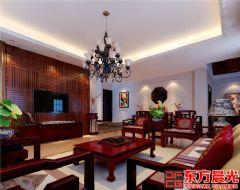 北京中式别墅装修效果图中式风格别墅