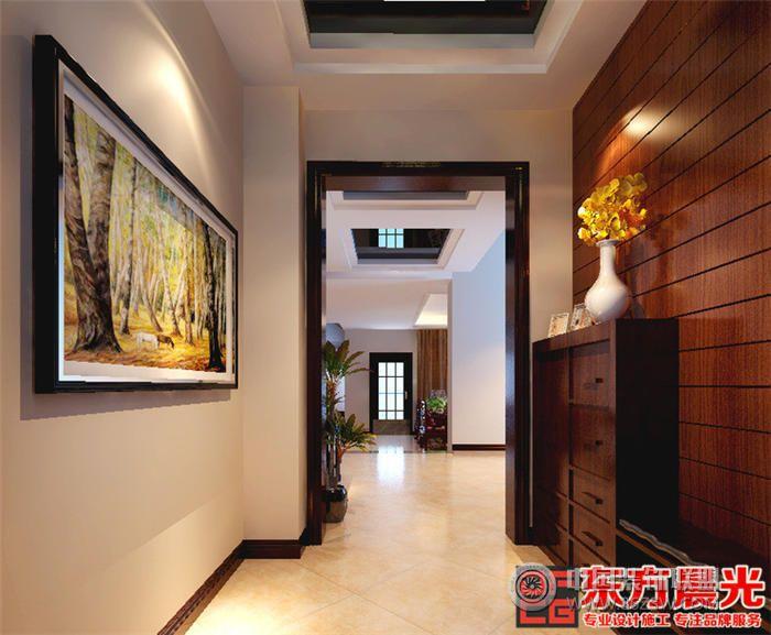北京中式别墅装修效果图 餐厅装修效果图