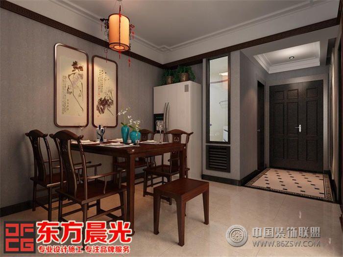 中式別墅家裝效果圖-餐廳裝修圖片