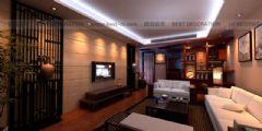 新嘉雅园5栋中式风格三居室