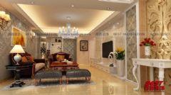 新嘉雅园6栋欧式风格三居室