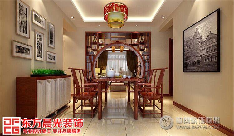 中式家居装修设计餐厅装修图片