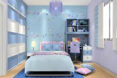 最新温馨清雅儿童房设计