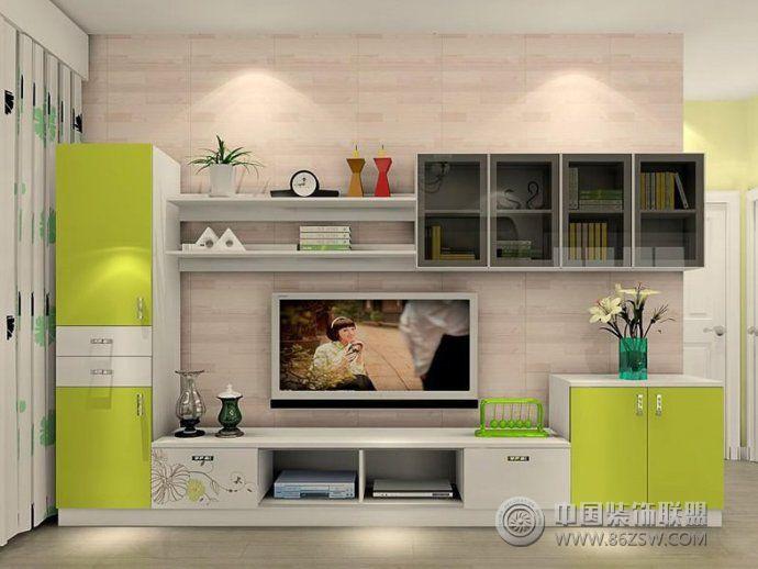 2014创意时尚客厅电视柜设计-客厅装修效果图-八六()