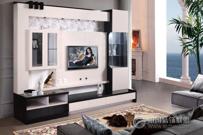 2014创意时尚客厅电视柜设计