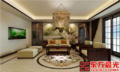 典雅新中式风格别墅设计效果图中式风格别墅