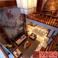 富丽华贵中式设计二层别墅效果图中式风格别墅