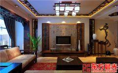古典别墅简约中式装修效果图中式风格别墅