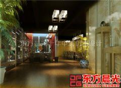 北京清新别致会所中式装修