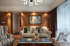 美式家庭装修美式风格三居室