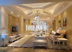 成都尚层装饰别墅装修仁和春天简欧风格案例欧式风格三居室