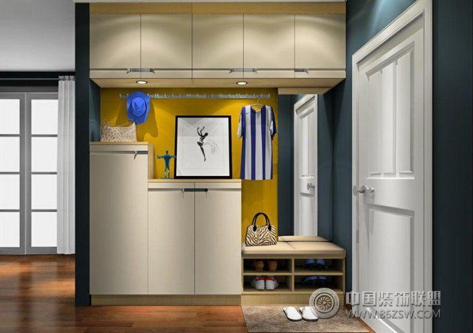 2014玄关鞋柜创意设计-书房装修图片