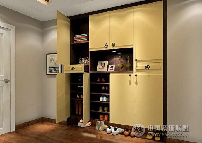 2014玄关鞋柜创意设计 书房装修效果图 八六装饰网 高清图片