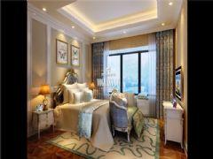 成都尚层装饰别墅装修天府世家简欧风格案例展示欧式风格大户型