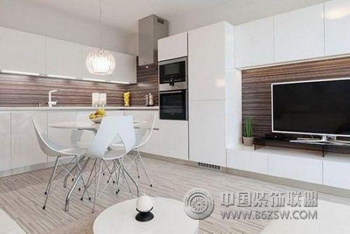 小户型简约装修案例-客厅装修效果图-八六(中国)装饰