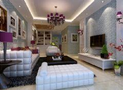 金沙时代现代欧式欧式风格二居室