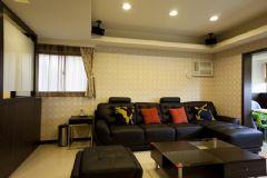 118平三房两厅现代风格装修案例