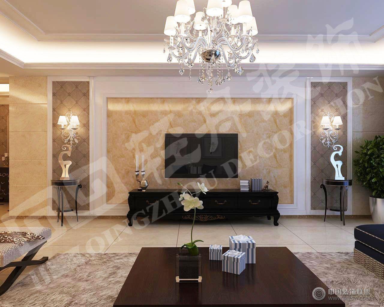 欧式新古典欧式客厅装修图片