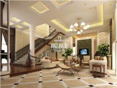 成都尚层装饰别墅装修迎宾大道一号法式风格案例展示东南亚风格别墅