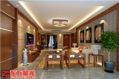 北京中式风格别墅装修设计朴实无华中式风格别墅