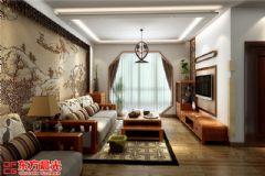 优雅中式亦简亦美别墅装修设计中式风格别墅