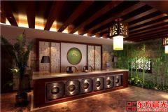 中式風格茶館設計古典溫馨