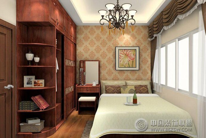 最新卧室家具搭配设计-卧室装修图片