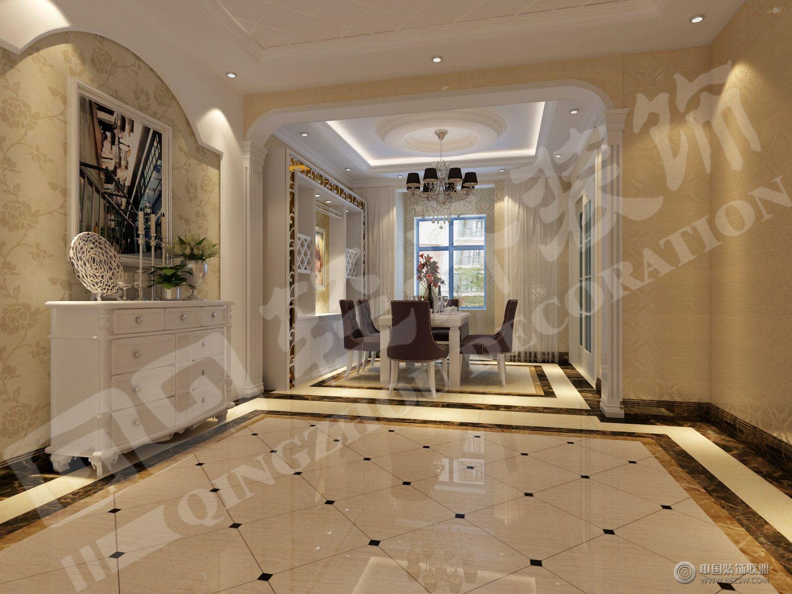 欧式风格欧式客厅装修图片