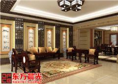 中式别墅装修设计之婉约风雅中式风格别墅
