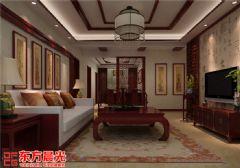 花开富贵般中式别墅设计效果图中式风格别墅
