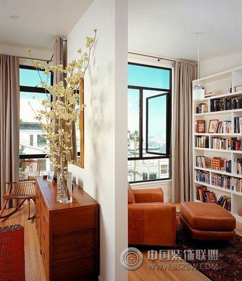 小户型书房设计图整套大图展示_现代小户型装修效果图
