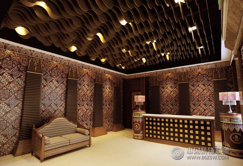 藏药浴空间设计-南派藏医理疗会所-会所装修图片
