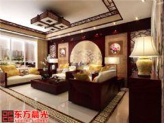 中式风格别墅室内装修效果图中式风格别墅