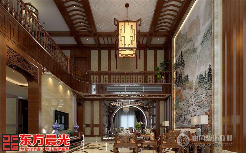 古典新中式餐厅设计 单张展示 餐馆装修效果图 八六 中国 装饰联盟装修