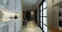 乐府兰亭简约装修 创意温馨有活力的住宅现代风格三居室