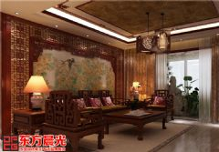 豪宅别墅装修设计尽显雍容华贵中式风格别墅