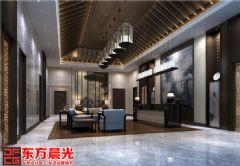 多元化中式会所装修清亮透明