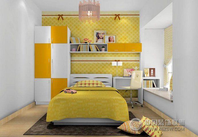 家庭时尚飘窗创意设计-卧室装修图片