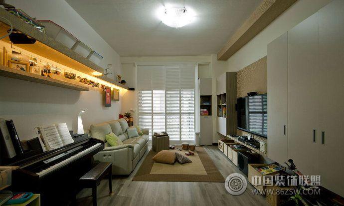 100平温馨雅居装修案例-卧室装修效果图-八六装饰网