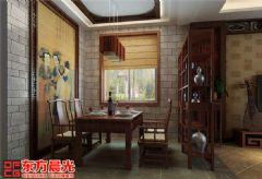 传统中式别墅装修设计突出原汁原味中式风格别墅