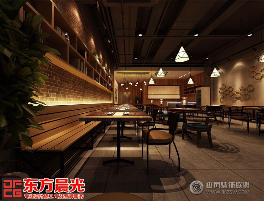 中式设计餐厅装修效果图|餐厅装修