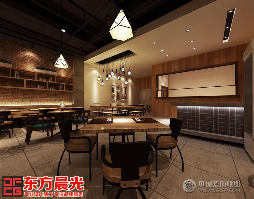 中式设计餐厅装修效果图 餐厅装修 单张展示 餐馆装修效果图