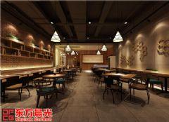 中式设计餐厅装修效果图 餐厅装修