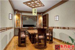 曲意悠揚的古典中式設計茶樓裝修