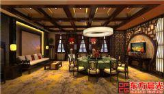 中国风餐饮会所中式装修|会所装修