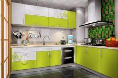 时尚厨房清新搭配设计